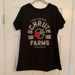 Torrid The Office Shrute Farms Tee Shirt size 2